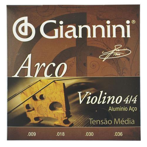 Encordoamento de Violino Giannini GEAVVA