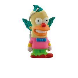 "PenDrive Multilaser PD074 8gb Simpsons ""Krusty"""