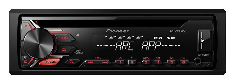 Toca CD Pioneer DEH-X1950UB