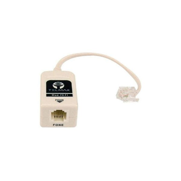 Filtro ADSL F2-T1 Simples p/ Telefone
