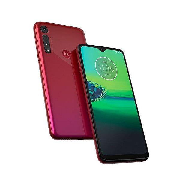 Smartphone Motorola Moto G8 Play XT2015 32gb Vermelho Magenta
