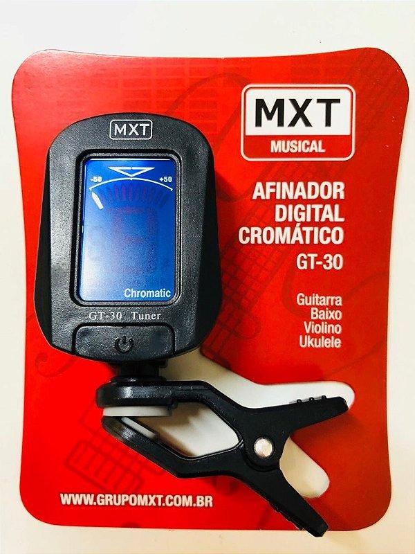 Afinador Digital Cromatico Gt-30