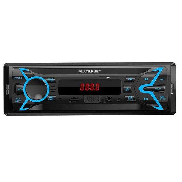 Auto Radio Multilaser P3335 Usb/Sd+Aux
