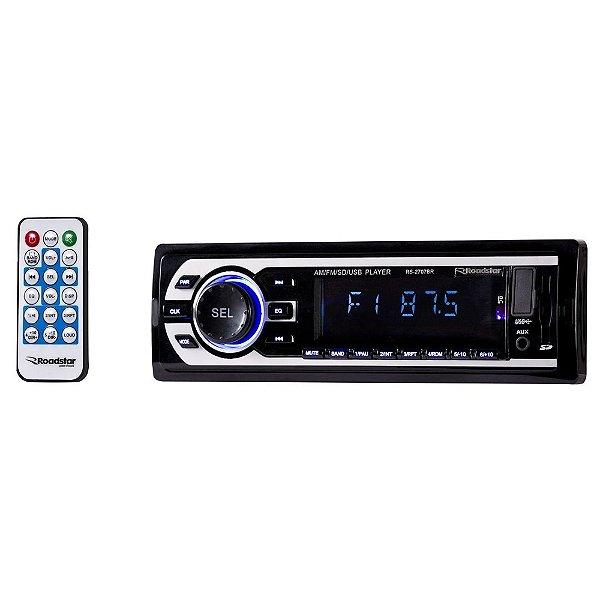 Auto Radio Roadstar Rs-2707Br Sd/Usb/Am/Fm