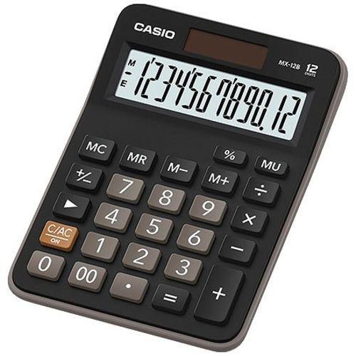 Calculadora Casio MX12B-S4-DC Preta