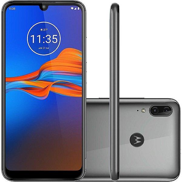 Smartphone Motorola Moto E6 Plus Xt2025 32Gb Cinza Metalico