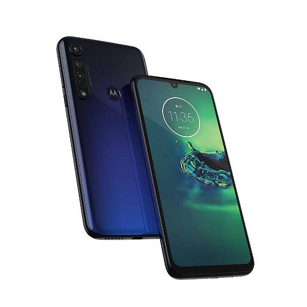 Smartphone Moto G8 Plus Xt2019 64Gb Azul Safira