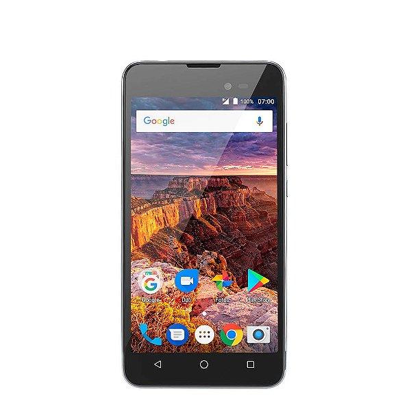 Smartphone Multilaser Ms50L P9051 8Gb Grafite/Preto