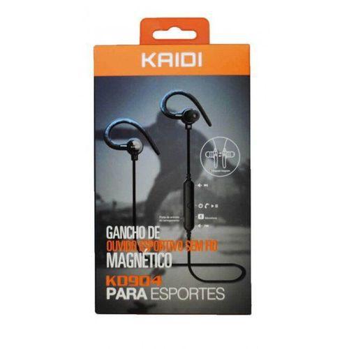 Fone De Ouvido Kd904 Kaidi Bluetooth