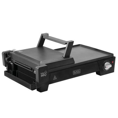 Grill Eletrico G2200-Br 3 Em 1 Black & Decker
