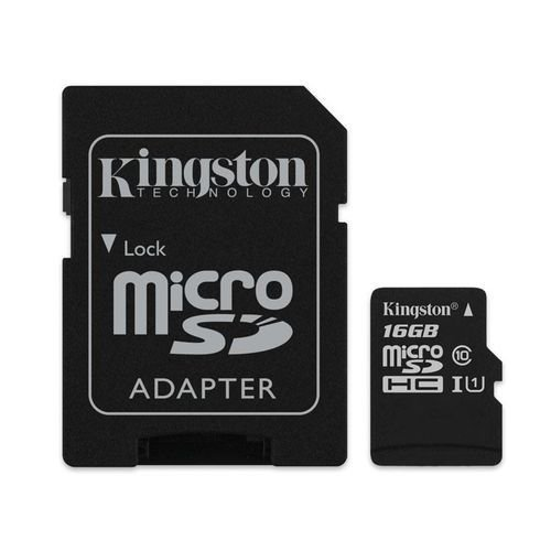 Cartão de Memoria Micro Sd 16Gb Ultra C10 Kingston