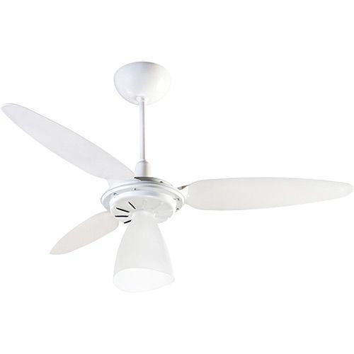 Ventilador de Teto Ventisol Wind Light 3 Pas Branco 127V