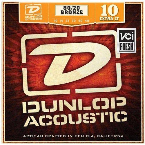 Encordoamento de Violão Dunlop Aço .010