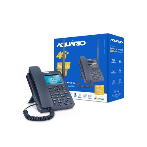 """Telefone Rural Aquário CA42S 4G Wi-Fi Tela 3,5"""""""