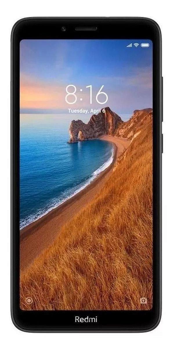 Smartphone Xiaomi Redmi 7A Cx278 Preto 32Gb