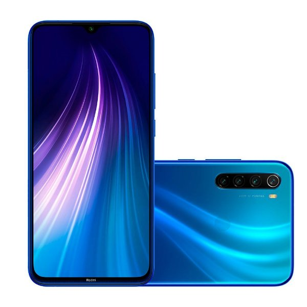 Smartphone Xiaomi Redmi Note 8 Cx286 Azul 64Gb