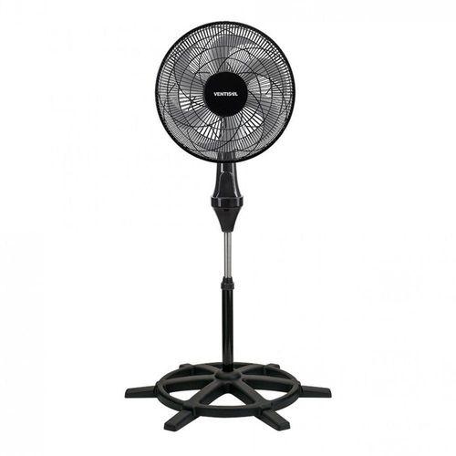 Ventilador de Coluna 40cm Ventisol Premium 6 Pas Preto 127V