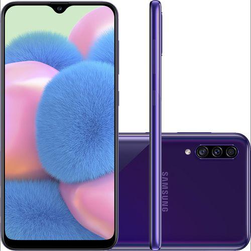 Smartphone Samsung Galaxy A30S SM-A307G 64gb Violeta