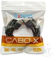 Cabo Hdmi Exbom  1,5M Cbx-H15Dsmpt