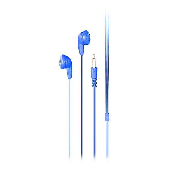 Fone de Ouvido Multilaser Ph314 Play Azul