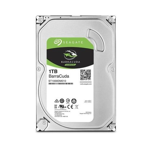 Hd Interno 1 Tb Seagate Barracuda P/ Desktop 3,5''