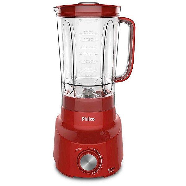 Liquidificador Philco Plq915V 127V Vermelho 1200W