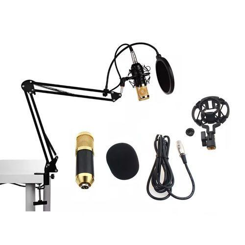 Microfone Kp-M0010 Knup Condensador