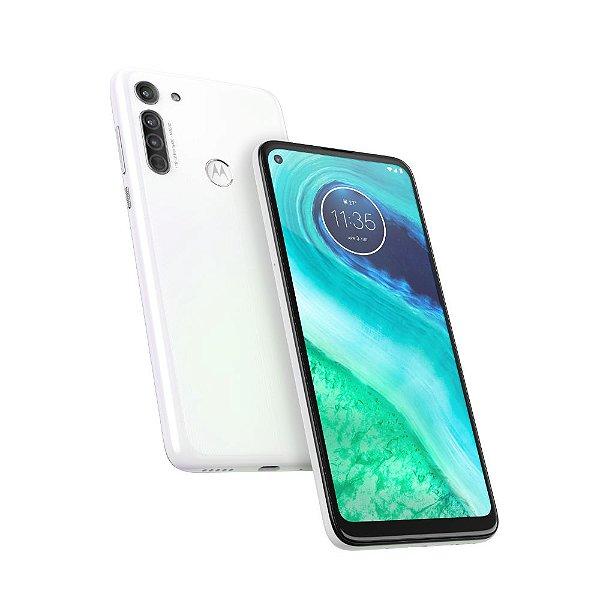 Smartphone Motorola Moto G8 XT2045 64gb Branco Prisma