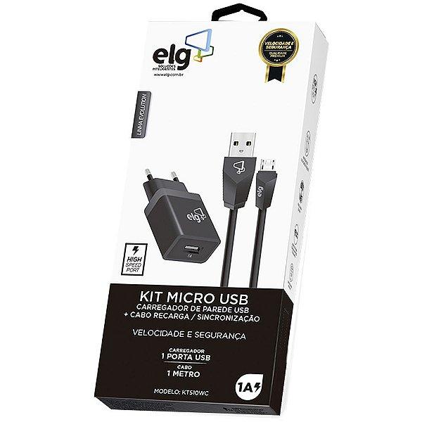 Carregador ELG KT510WC Micro USB
