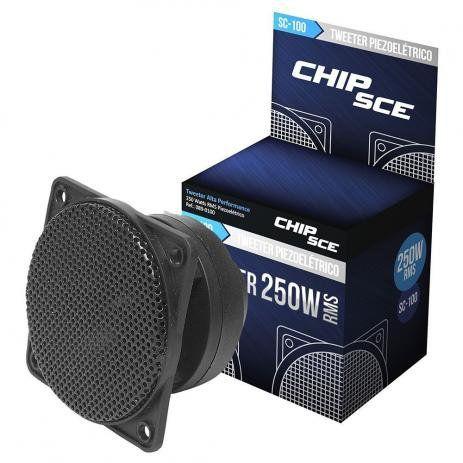 Tweeter Piezoeletrico Chip Sce SCE100 250W