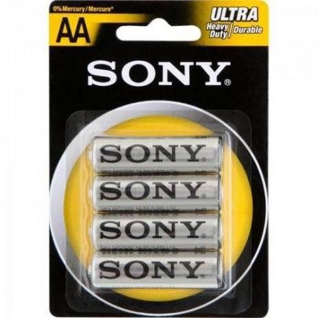 Pilha Sony SUM-NUB4A AA com 4 Zinco