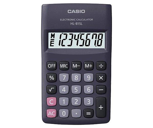 Calculadora Casio HL-815L-BK Preta