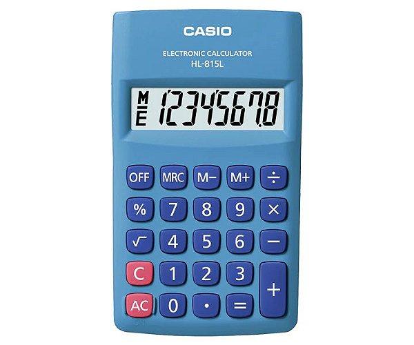 Calculadora Casio HL-815L-BU Azul