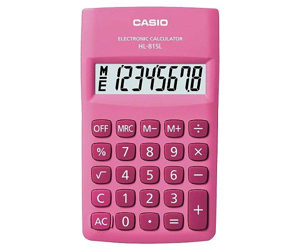 Calculadora Casio HL-815L-PK Rosa