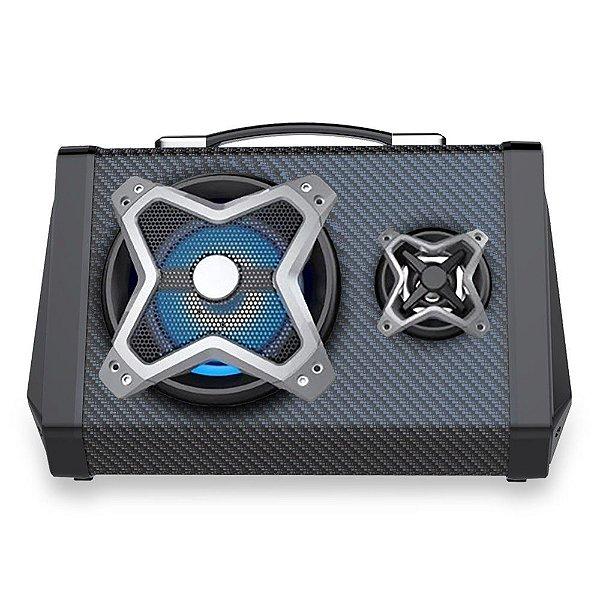 Caixa de Som Multilaser SP314 Fabric 80W
