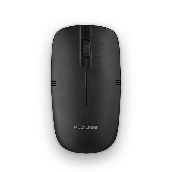 Mouse Multilaser MO285 sem Fio Preto