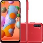 Smartphone Samsung Galaxy A11 SM-A115M 64gb Vermelho
