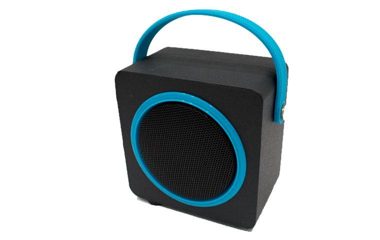 Caixa de Som OEX SK404 Music Box Preta/Azul