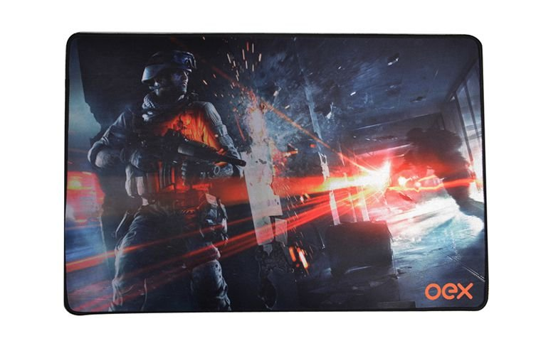 Mouse Pad Gamer OEX MP301 Battle