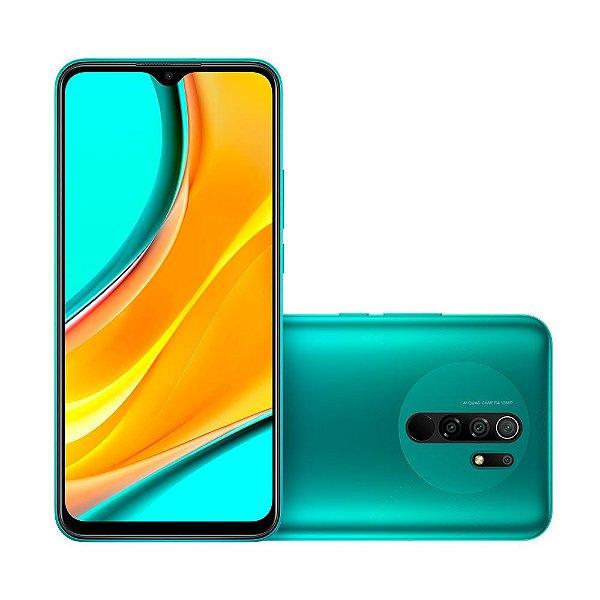 Smartphone Xiaomi Redmi 9 M2004J19G 64gb Ocean Green (Verde Oceano)