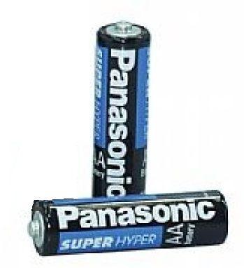 Pilha Panasonic AA UM3HS com 2