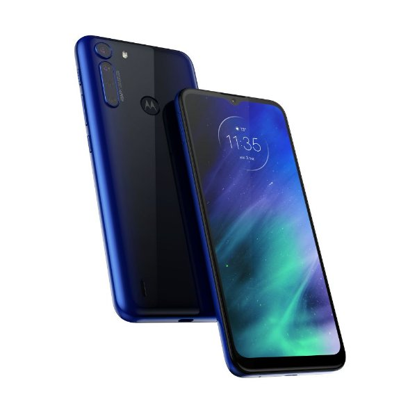Smartphone Motorola Moto One Fusion XT2073 128gb Azul Safira