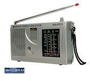 RADIO RM-PF33 MOTOBRAS 3 FAIXAS AM/FM 3W