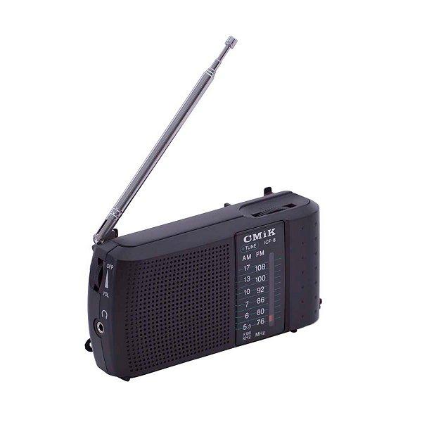 RADIO ICF-8 GPX GI-EH 2 FAIXAS AM/FM 2W