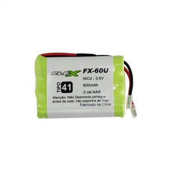 BATERIA P/ TELEFONE S/ FIO FX-60U FLEX
