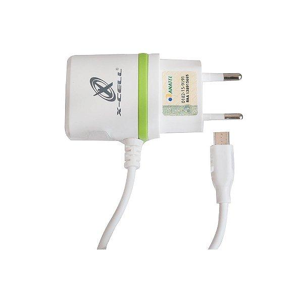 CARREGADOR X-CELL XC-V8-GLX MICRO USB V8
