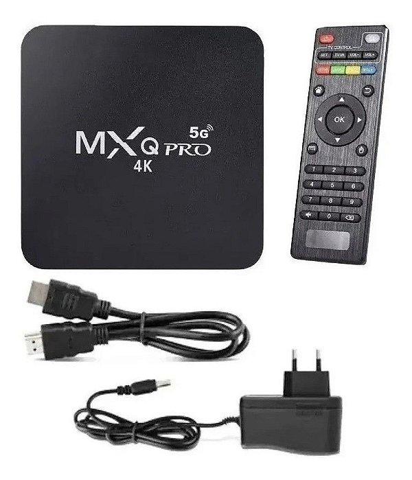 TV BOX MXQ PRO 4K ANDROID 10.1 4GB/32GB
