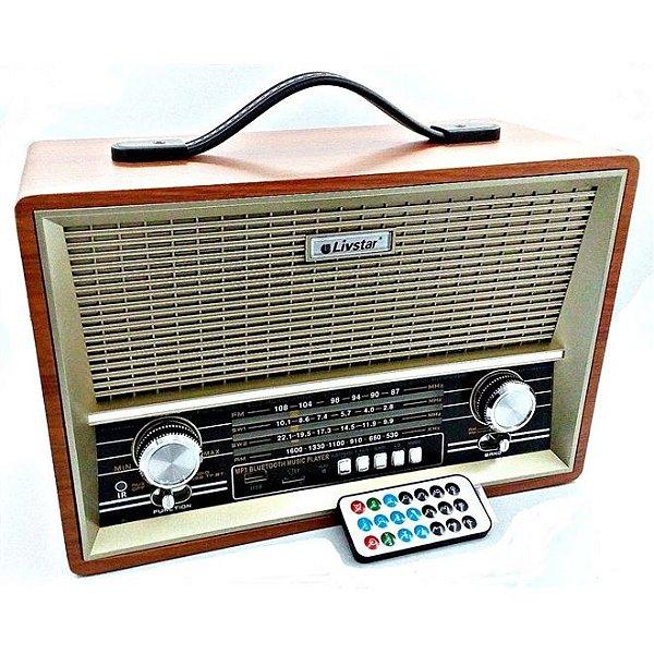 RADIO CNN-2068RU-A LIVSTAR 4 FAIXAS AM/FM 4W