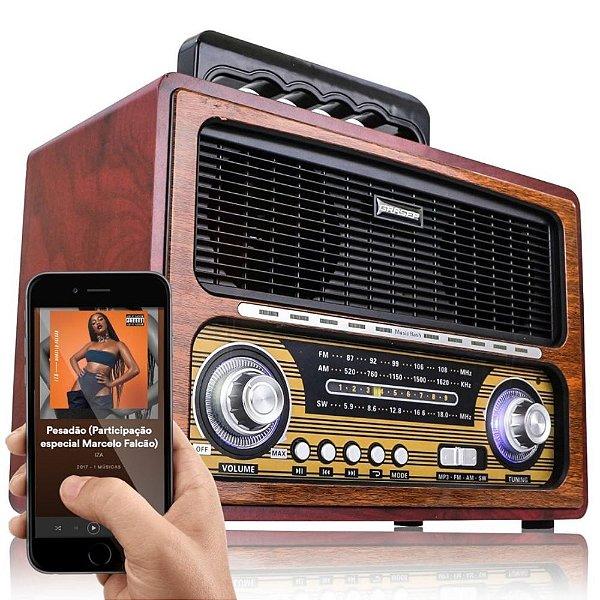 RADIO D-BH2026 GRASEP 4 FAIXAS AM/FM 20W