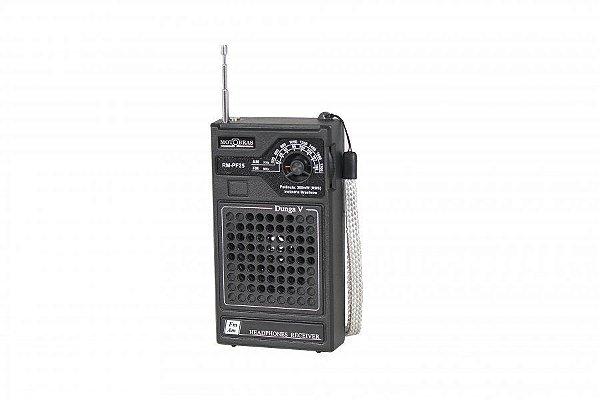RADIO RM-PF25 MOTOBRAS 2 FAIXAS AM/FM 3W